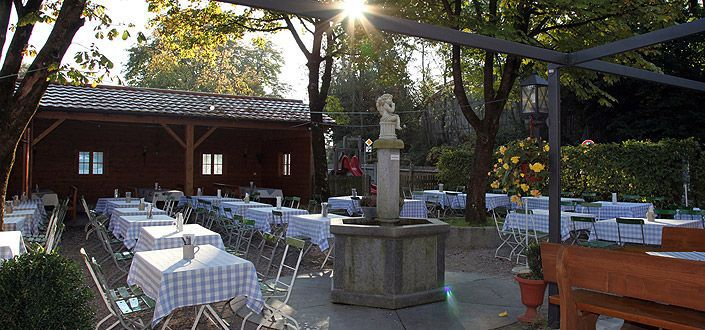 Beergarden of the Jägerwirt