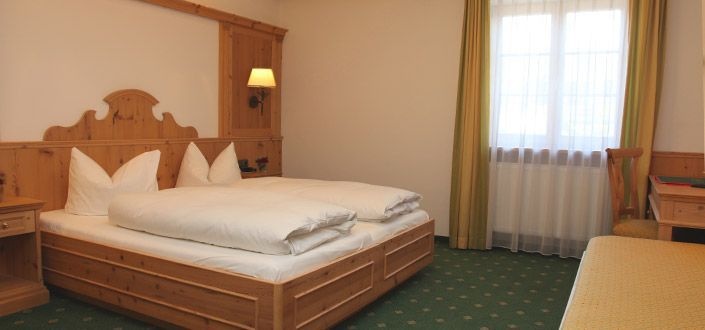 Double room hotel Jägerwirt